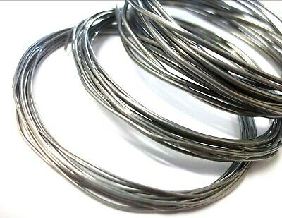 Low Melting Point Solder. Lmp 62% Tin 36% Lead 2% Silver. Choose Size & Length • 9.57£