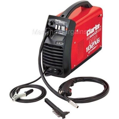 Automotive And General Fabrication. CLarke MIG102NG 90amp No Gas MIG. Welder. • 144.99£