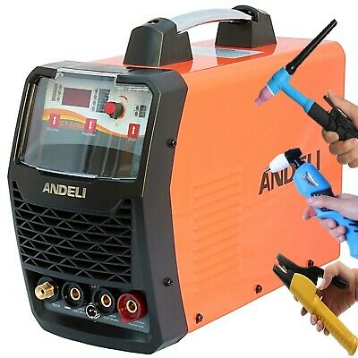50a Plasma Cutter/200a Hf Tig/mma 3 In 1 Dc Inverter Welder 2t/4t Up/down-slope • 489.99£
