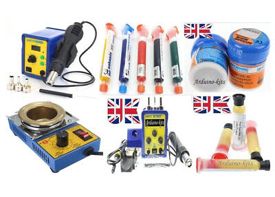 Soldering Stations Rework Platforms Pastes Liquid Soldering Accessories  • 51.99£