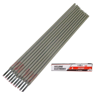 General Purpose E6013 Arc AWS Welding Electrodes Rods 2.5 / 3.2 / 4.0 Mm  • 21.99£