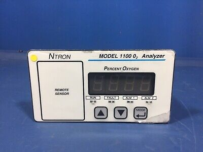 Ntron Model 1100be-n1 1100 02 Analyzer • 299.70£