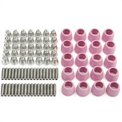 90pcs AG60 WSD-60P Plasma Cutter Torch Consumables Kits Electrodes Tips CUT50/60 • 37.95£