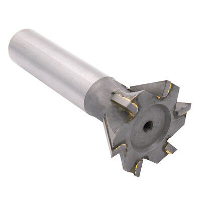 10-45mm T-Slot Cutters Dovetail Cutter End Mill Milling Angle HSS 45° 55° 60°   • 30.20£
