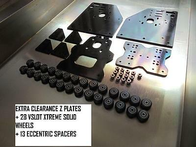 Extra Z Clearance Ox Cnc Router Gantry Plate 28 Xtrem V Slot Wheel 13 Eccentric  • 178£