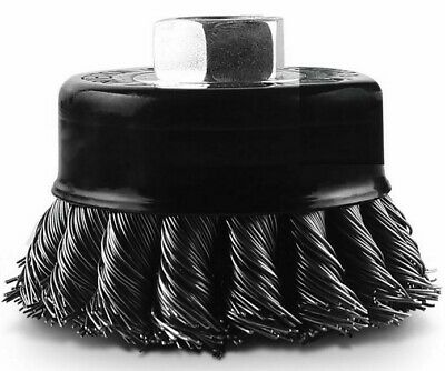 Detroit MULTI-THREAD STEEL TWIST WIRE CUP BRUSH - 65mm Or 75mm • 35.83£