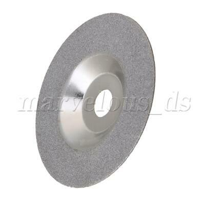 4 Inches Diamond Articles Part Grinding Wheel Angle Grinder Disc Silver Tone • 14.89£