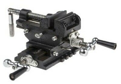 RS Pro MILLING VICE 72x72mm Adjustable Gibs, Independent Cross Feed & Traverse • 248.79£