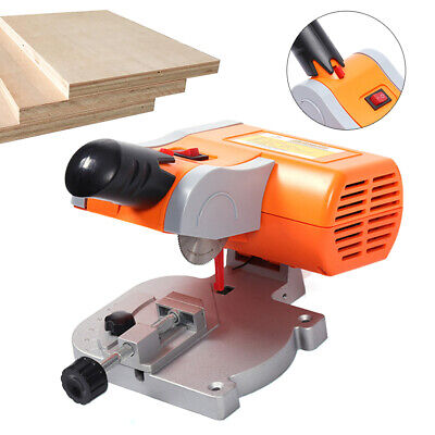 DIY Mini Precision 0-45° Bench Cut-off Saw Metal Wood Cutter For Frames&molding • 27.02£