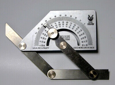 Angle Finder 2 Bend Protractor Fabrication Tube Bending • 23.95£
