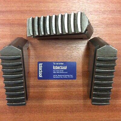 Hard Jaws For Pratt 3 Jaw Chuck Internal Type Used Good Condition • 72£