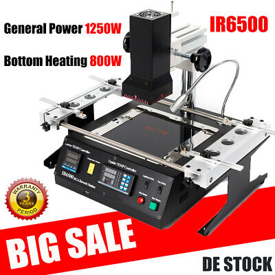 IR6500 IR BGA Air Infrared Rework Station Repair Station Welder For Xbox 360 PS3 • 349£