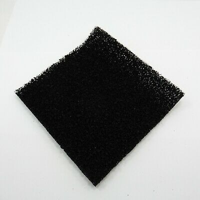 Smoke Filter Pad Black Activated Carbon Fume Extractor Universal Foam Air Sponge • 23.75£