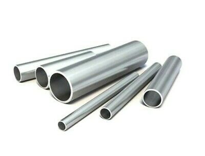 Stainless Steel Round Tube. Hollow Pipe. 6mm -> 50mm. 304. 100mm -> 3 Metres.. • 16.76£