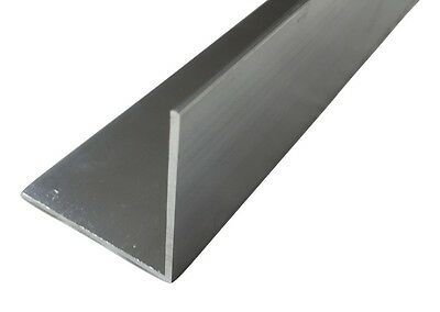 Aluminium Angle Aluminium Extruded Angle Various Sizes Thickness  • 6.96£