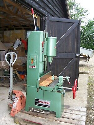 Dominion Bm Mortiser Classic Mortice Machine With Chisels And Chuck For Boring • 2,500£