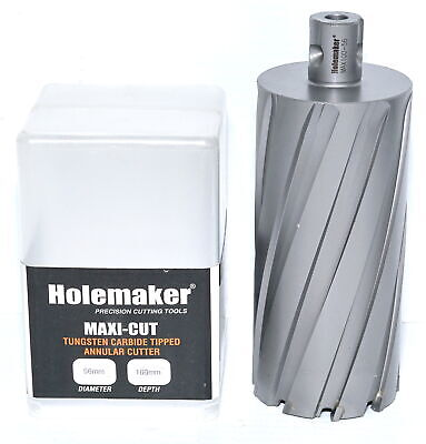 Holemaker Maxi-Cut 56x100 Annular Cutter 56mm For Magnetic Drill • 88.31£
