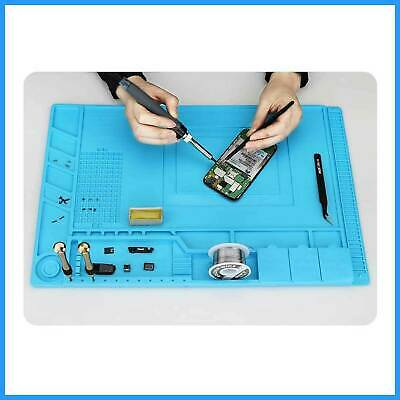For Anti Static Magnetic Heat Insulation Silicone Pad Desk Mat For Solder Repair • 12.49£
