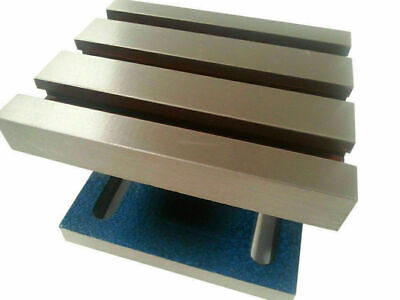ADJUSTABLE SWIVEL TILTING ANGLE PLATE 5  X 6  - NEW • 95.67£