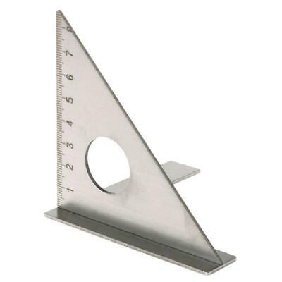 Woodworking Ruler Square Layout Miter Triangle Rafter 45° 90 Degree Metric Gauge • 10.96£