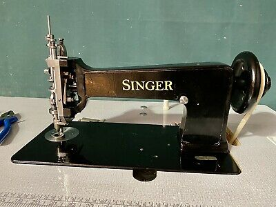 Singer 114w103 Chain Stitch Embroidery Machine Complete Table Stand Motor Includ • 2,499£