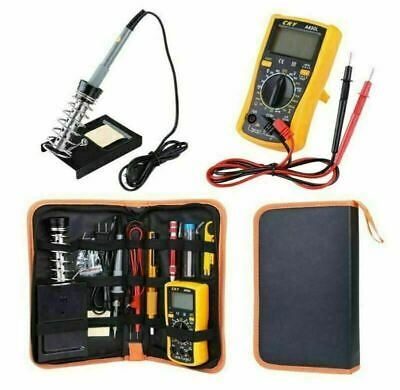 60W 220V Soldering Iron Kit 18 In 1 Electronics Welding Irons Tool Repair Tools • 13.99£