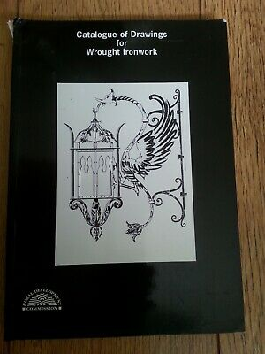 WROUGHT IRONWORK CATALOGUE OF DRAWINGS  -  RDC  ( 223 Pages )   See Photos ) • 15£