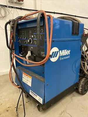 Miller Syncrowave 250dx 250amp Ac/dc Water Cooled Tig Welder 415v 3 Phase • 1,995£