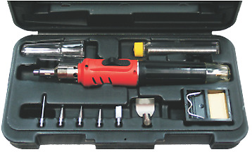 Soldering Iron Gas Torch Kit T&E Tools HS-1115K • 55.02£