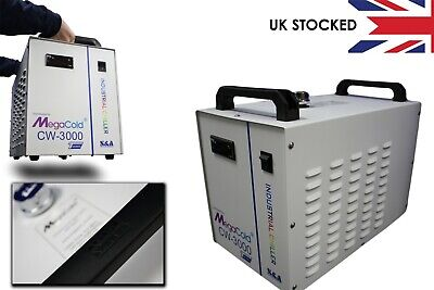 CW-3000 Water Chiller From S&A 9litre/50w/°C Radiating Capacity/Low Running Cost • 229£