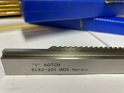 Marlco Izod V NOTCH Broach WDS 6482-201 Tool Fixture - Excellent Condition  • 299£
