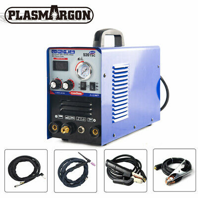 50 AMP Air Plasma Cutter 200 AMP Tig Stick/MMA/ARC Welder 3 In 1 Combo Welder UK • 360£