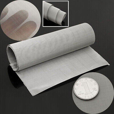 100mesh Stainless Steel Woven Wire Filtration Grill Sheet Fine Filter 30*90cm- • 8.29£
