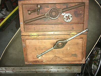Vintage Classic Small Engineering Die Wrenches Holders Steam Model Motor. • 4£