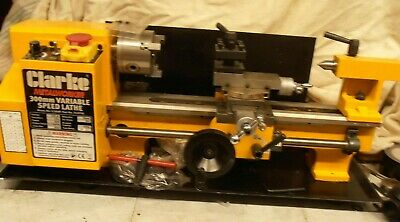 Clarke CL300M Lathe - New And Unused  - Cost £695 - Not Now Required • 525£