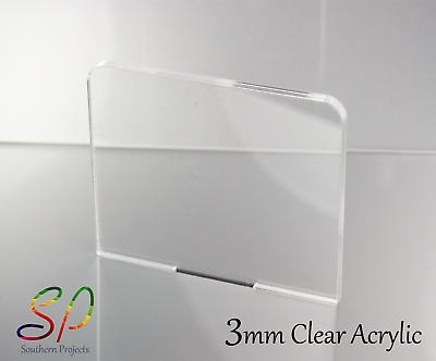 3mm Perspex Acrylic Plastic Sheets Clear Transparent • 46.62£