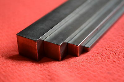 316 A4 Stainless Steel Square Bar  3mm 4mm 5mm 6mm 8mm 10mm 12mm Model Makers • 9.99£