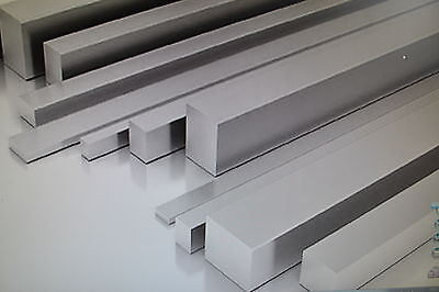 Aluminium Flat Bar Strip 3mm 4mm 6mm 25mm 20mm 30mm 40mm 50mm Metric Imperial • 17.99£