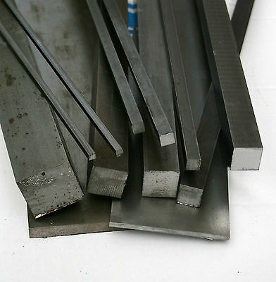 Bright Mild Steel Square Bar 6mm - 40mm (Various Lengths) • 10£