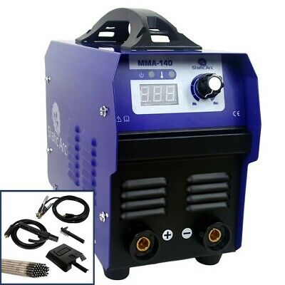 Mma 140a Igbt Inverter Dc Welder Arc Stick Portable Welding Machine + Electrodes • 69.99£