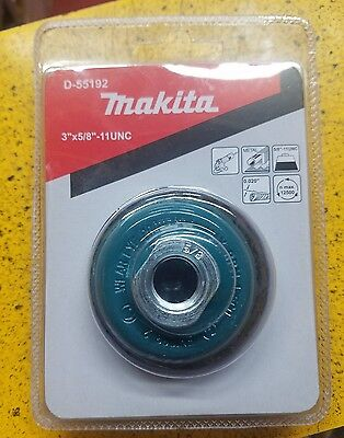 Makita D-55192 3 Inch Knotted Wire Cup Brush For Grinder • 12.51£