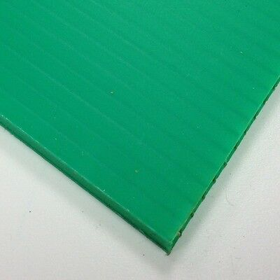 4mm Green Correx Fluted Corrugated Plastic Sheet 9 SIZES TO CHOOSE • 129.99£