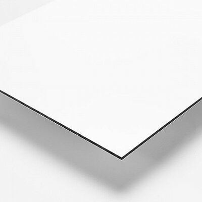 2mm White Matt / Gloss Dibond ACM Sheet Aluminium Composite 10 SIZES TO CHOOSE • 199.99£