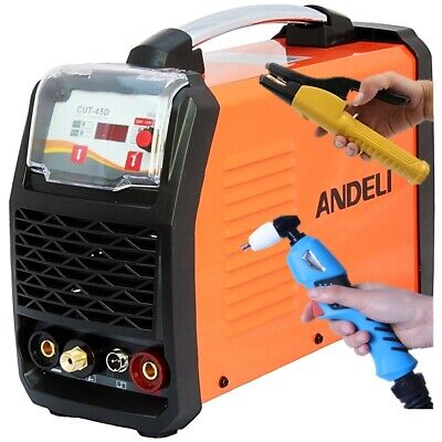 45amp Digi Air Plasma Cutter/mma (stick, Arc) 2 In 1 Dc Inverter Welder + Kits • 319.99£