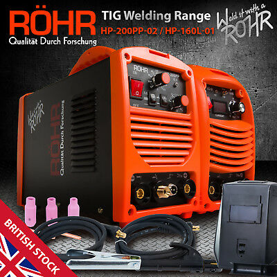 ROHR TIG MMA Inverter Welding Welder Machine (HP-200PP / 160L) Portable Welders • 199.99£