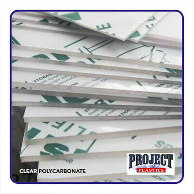 CLEAR POLYCARBONATE SHEET  LEXAN MAKROLON PALSUN U.V Protected High Impact • 14.80£