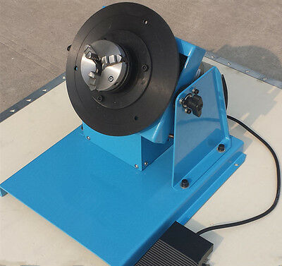 2-18RPM 10KG Light Duty Welding Turntable Positioner With 80mm Chuck  • 287£