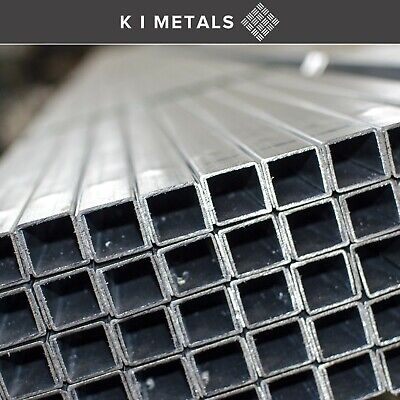Mild Steel Box Section,1m - 3m - Other Sizes And Lengths Available | 25mm - 70mm • 35.23£