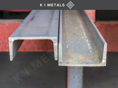 Mild Steel Channel | Various Lengths Available |1 Mtr. To 3 Mtr. • 47.71£