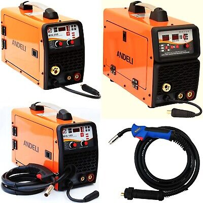 160a, 200a, 250a Mig/mag/flux/lift Tig/mma 5 In 1 Dc Inverter Welder Gas/gasless • 258.99£